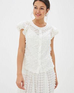 Блузка кружевная белая Gepur