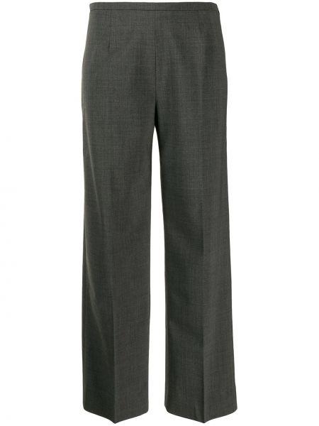 Расклешенные укороченные брюки с поясом Piazza Sempione