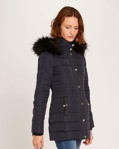 Теплая синяя куртка Morgan