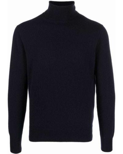 Niebieski z kaszmiru sweter Cruciani