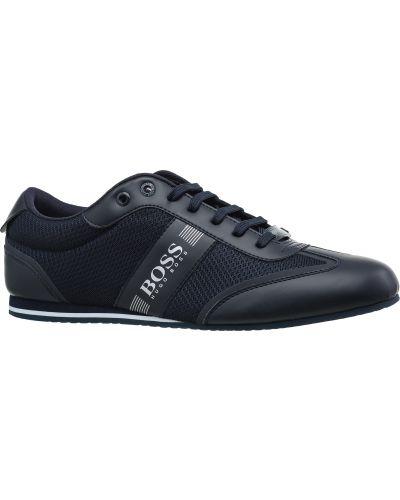 Кроссовки сетчатые - черные Hugo Boss