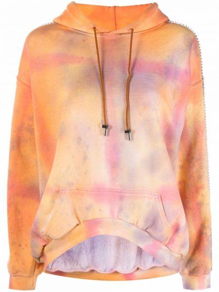 Bluza dresowa - pomarańczowa Collina Strada