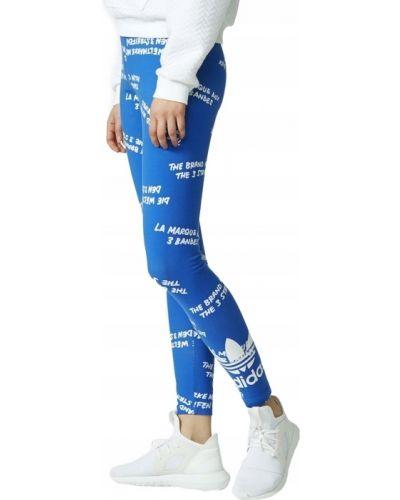 Klasyczne białe legginsy bawełniane Adidas