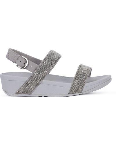 Szare sandały Fitflop