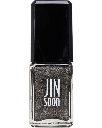 Лак для ногтей серый Jinsoon