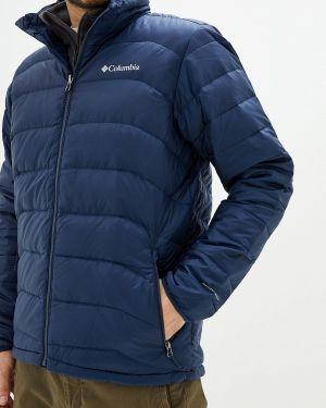 Зимняя куртка осенняя синяя Columbia