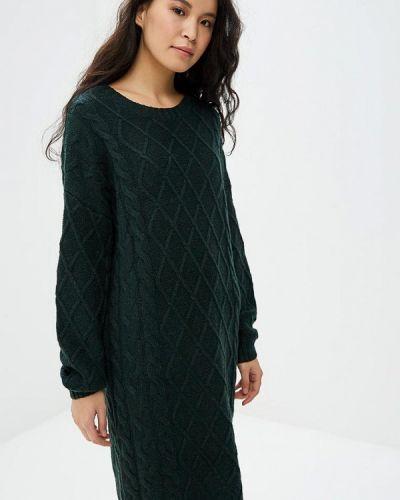 Платье осеннее зеленый Selected Femme