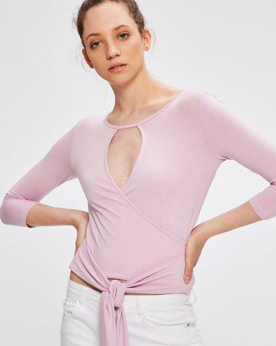 Блузка однотонная с запахом Answear