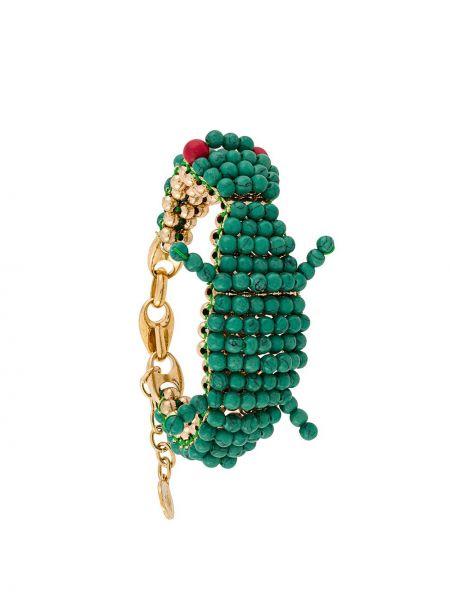 Браслет зеленый Lanvin