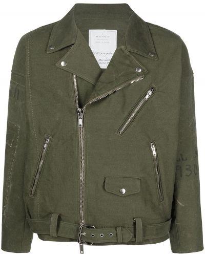 Zielona kurtka bawełniana Readymade