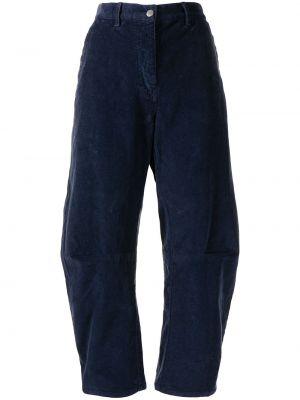 Прямые брюки - синие Nili Lotan