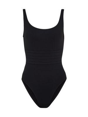 Klasyczny czarny strój kąpielowy na basen Eres