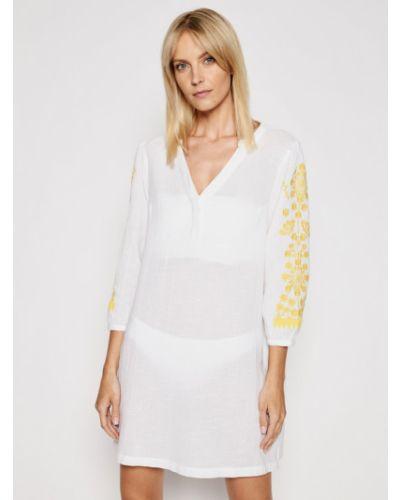 Sukienka plażowa - biała Chantelle