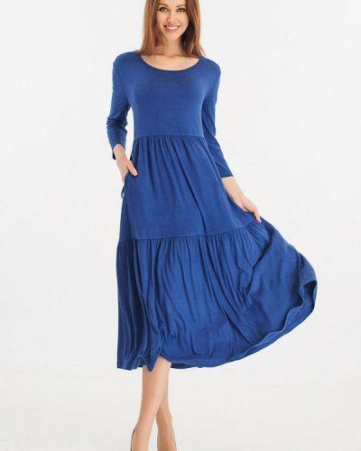 Повседневное синее платье Giulia Rossi