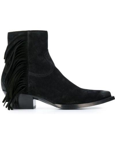 Ботильоны для обуви черный Saint Laurent