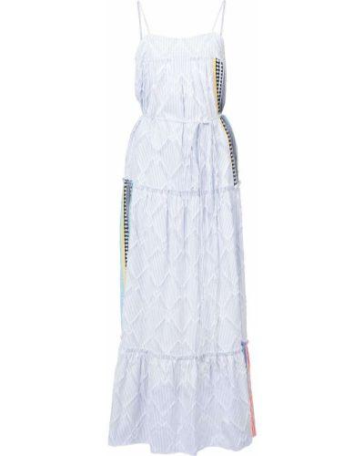 Sukienka bez rękawów biznes bawełna Lemlem