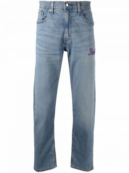 Klasyczne niebieskie jeansy bawełniane 3.paradis
