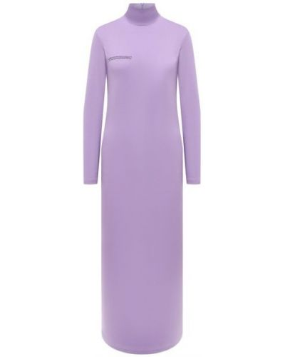 Трикотажное платье - сиреневое Pangaia