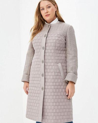Пальто демисезонное бежевое Grand Madam