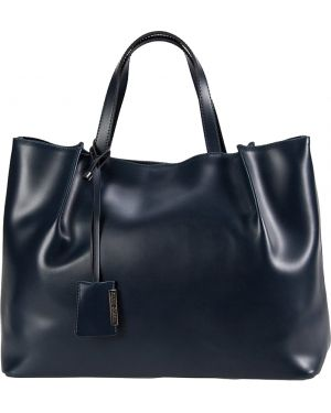 Кожаная сумка - синяя Gianni Chiarini