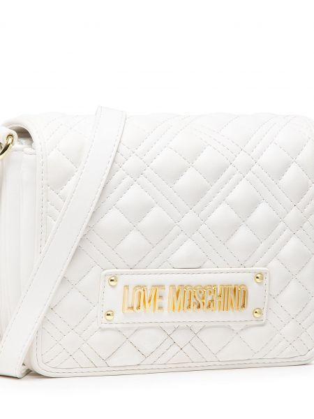 Biała listonoszka Love Moschino