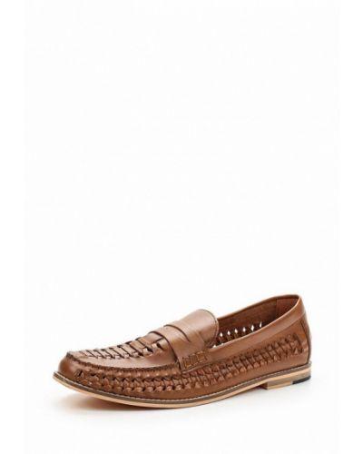 Коричневые туфли Topman