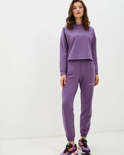 Костюмный фиолетовый спортивный костюм Trendyangel