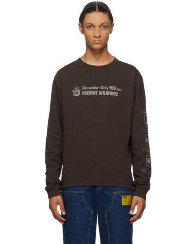 Черная рубашка с воротником с манжетами с длинными рукавами Phipps