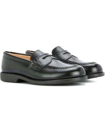 Лоферы кожаный для обуви Miki House