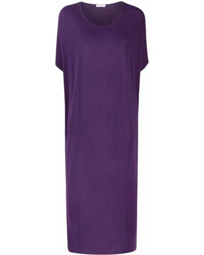Фиолетовое платье мини с вырезом из вискозы P.a.r.o.s.h.