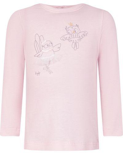 Розовый лонгслив Il Gufo