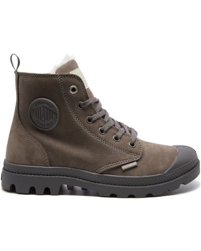 Кожаные ботинки с подкладкой Palladium