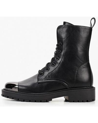 Черные ботинки из искусственной кожи Betsy