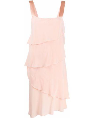 Платье розовое персиковое Antonelli