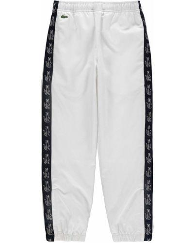 Spodnie bawełniane Lacoste