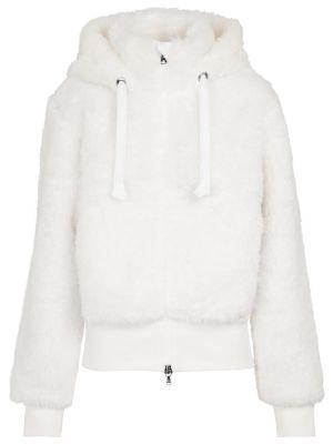 Куртка из искусственного меха - белая Bogner