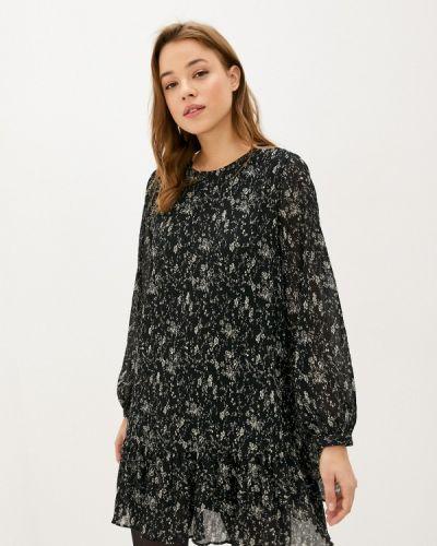 Черное прямое платье Lime