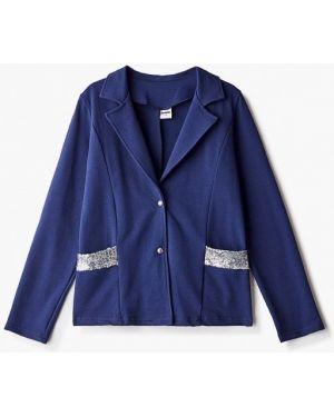 Пиджак синий Looklie