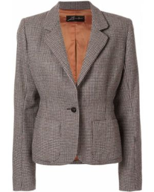 Шерстяной пиджак - серый Zambesi