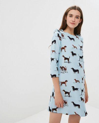Платье прямое осеннее Compania Fantastica