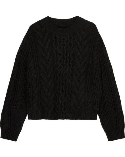 T-shirt dzianinowa - czarna Marc O'polo