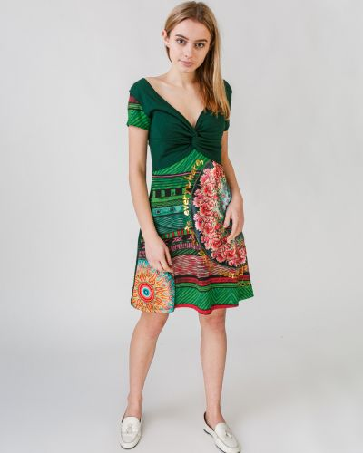 Платье А-силуэта с аппликациями Desigual