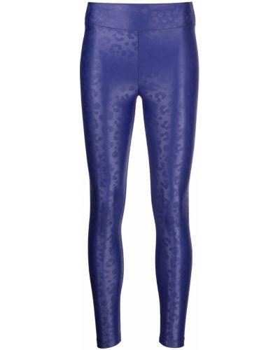 Niebieskie legginsy Koral