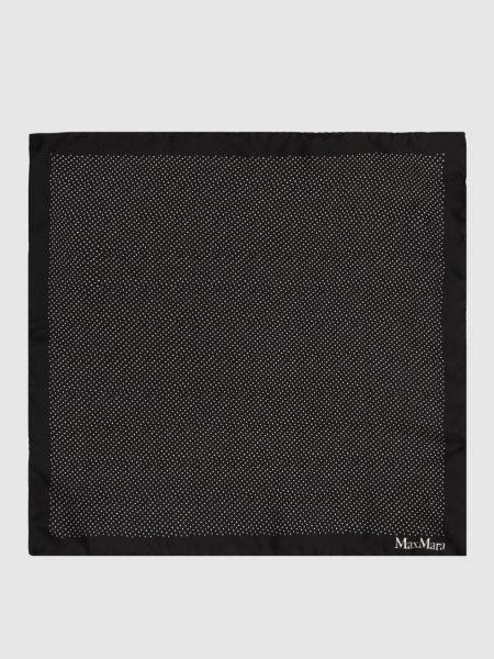 Шелковый платок - черный Max Mara