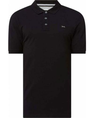 Czarny t-shirt bawełniany Brax