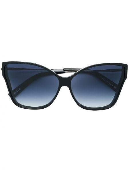 Czarne okulary oversize Christian Roth