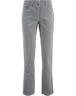 Классические брюки - серые Bonprix