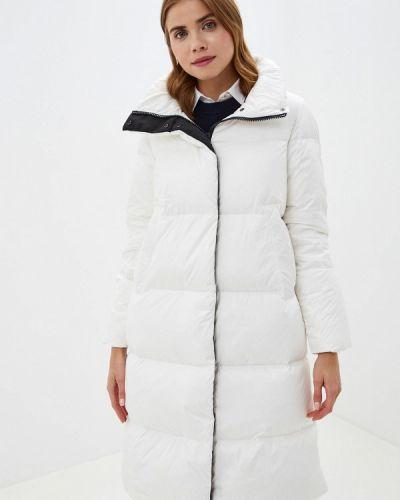 Теплая белая куртка Tommy Hilfiger