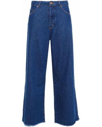 Укороченные широкие джинсы American Vintage