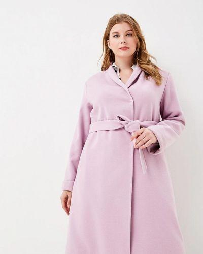 Розовое пальто Doroteya